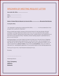 Business Letter Sample Request Meeting. Brilliant Ideas Of How To ...