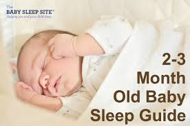 2 Month Old Or 3 Month Old Baby Sleep Guide The Baby Sleep
