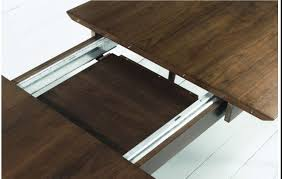 stockholm extension dining table walnut – sofa concept