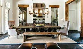 medium size of dining room lighting ideas for round table farmhouse rustic rectangular chandelier over in