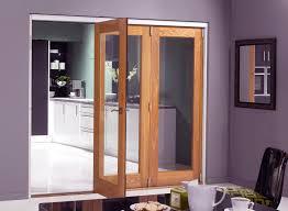 Wardrobe : Beautiful Wood Framed Mirrored Bifold Closet Doors ...