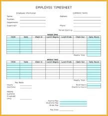 Work Time Card Calculator Lunch Schedule Template Excel Work Lunch Schedule Template