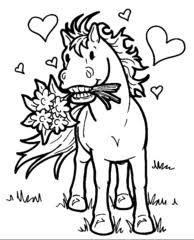 Cavalli Disegni Per Bambini Da Colorare