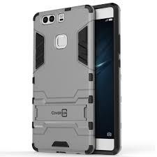 huawei phone p9 plus. coveron-for-huawei-p9-plus-case-hybrid-stand- huawei phone p9 plus