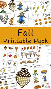 Fall Lesson Plans For Toddlers Fall Theme Activities For Kids Fun With Mama