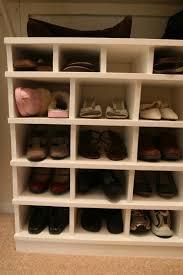 image of closet shoe rack home depot