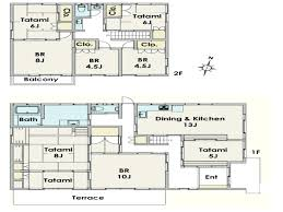 Traditional Japanese House Layout Modern Floor Plan Designmodern Designs  And Plans Free Philip