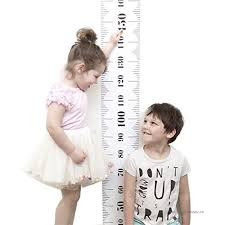 Baby Height Wall Chart Baby Height Growth Chart Kids Room Wall Decor Wood Frame