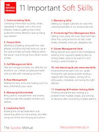 types of management skills the success manual resume skills skills list and interview skills