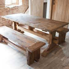 diy rustic wood dining table