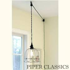 ceiling light with long cord perfect plug in pendant lights best ideas about plug in pendant ceiling light with long cord