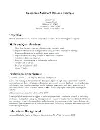 Objective Statement For Administrative Assistant Resume Example Resume For Administrative Position Objective