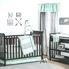 chevron nursery grey white and blue nursery comforter sets baby crib decoration baby bedding sets