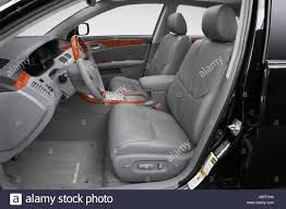 2007 Toyota Avalon Limited in Black - Front seats Stock Photo ...