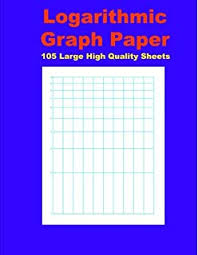 Semi Log Graph Paper Workbook 52 Divisions By 3 Cycle