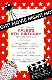Movie Night Invitation Template Free Beautiful Party Invitation Template Free For Best Images On Movie