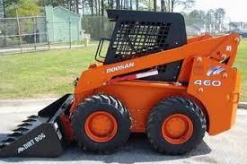 daewoo doosan skid loader service manuals and spare parts catalogs