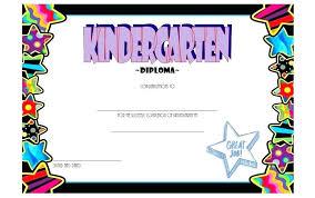 Kindergarten Diploma Template Free Printable Lined Paper Handwriting
