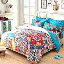 colorful bedding sets queen bohemian comforter set queen style bedding set duvet cover set bohemian bedding