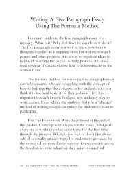example of a five paragraph essay 3 5 paragraph essay examples 5 examples of how to write a