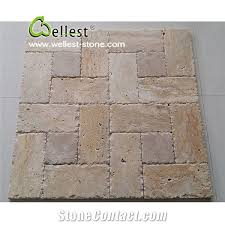 home travertine tiles slabs light travertine tumbled pattern tiles pavers beige travetine french pattern stone paving sets floor covering