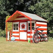 image to enlarge 6 x 5 waltons honeypot honeyle apex wooden playhouse