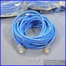 ethernet network cable  cables 100 leviton blue cat 5 15 ft ethernet lan patch cords network cables 52455 15b