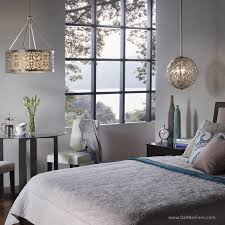 setting ambience using pendant lights in the bedroom ambient lighting creates