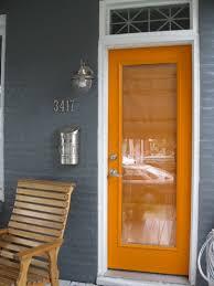 modern front door orange. Baltimore Porch Re-do - Apartment Therapy Modern Front Door Orange R