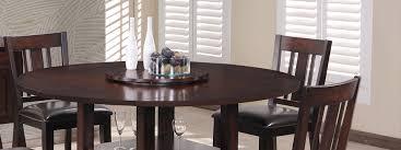 elegant wood dining set