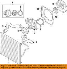 land rover car and truck water pump land rover oem 03 05 range rover engine water pump gasket pet000050
