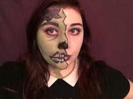 pop art zombie makeup tutorial through to see the full organic makeup tutorial to