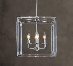 acrylic open cube pendant