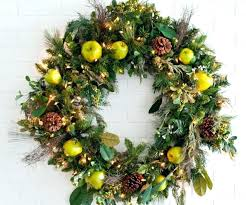 outdoor pre lit wreath wreaths from lighted large