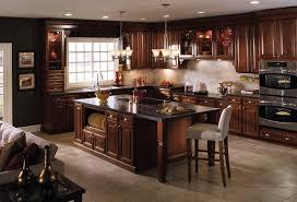 Kitchen Natural Cherry Kitchen Cabinets Best Countertops For Cherry Cool Kitchen Design Cherry Cabinets