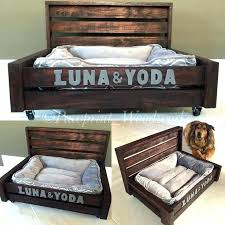 dog bed wood raised dog bed dog bed raised photo 6 of customized dog bed rustic