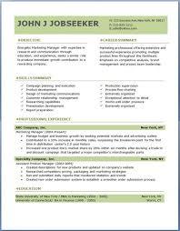 Professional Resume Objective Samples John J Jobseeker Top