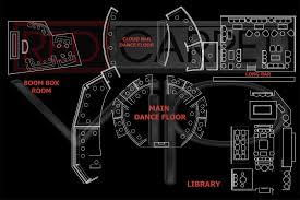 Cosmopolitan Las Vegas Seating Chart Las Vegas Nightclub Maps Red Carpet Vip