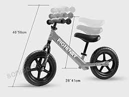 Biciclette Senza Pedali Seggiolino Regolabile Per Bici Da Corsa