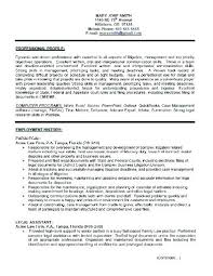 Secretary Resume Template Interesting Sample Resume Legal Secretary Objective For Secretary Resume