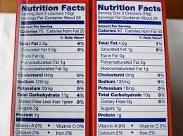 Ritz Crackers Nutrition Chart Whole Wheat Ritz Crackers