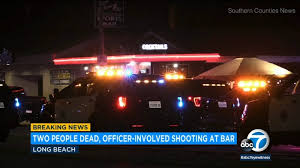 2 Dead Including Suspect In Shooting At Long Beach Bar
