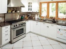 white kitchen design ideas dark floors white cabinets granite what