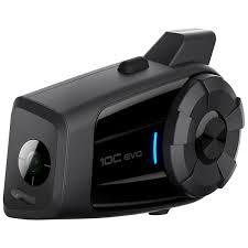 <b>SENA 10C Evo</b> - Combination <b>Bluetooth</b> Intercom and Camera System