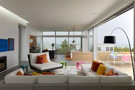 the dynamic style of modern home interiors. Modern Interesting Design Of The Interior Living Room Contemporary Beach House That Has Grey Sofas Can Be Decor With Cushion Add Dynamic Style Home Interiors N