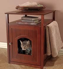 corner cat litter box furniture. Corner Cat Litter Best Box For Small Spaces Cheap Long Hidden Furniture