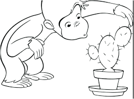 curious george print curious coloring pages photo fabulous printable with colouring to print curious curious george curious george