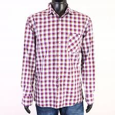 Details About R Gant Sport Mens Fitted Checked Shirt Int L