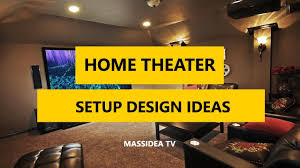 home theater setup ideas. Fine Theater 35 Best Home Theater U0026 Entertainment Setup Design Ideas 2018 To B