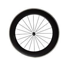Aluminum Alloy Surface Carbon 80mm Clincher Wheelset 700c Road Bike Carbon Wheels 23mm Width Alloy Wheels Custom Mountain Bike Wheels Bike Wheel Size